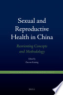 Sexual and Reproductive Health in China Book