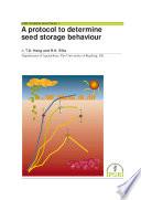 A Protocol To Determine Seed Storage Behaviour