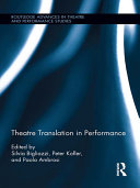 Pdf Theatre Translation in Performance Telecharger
