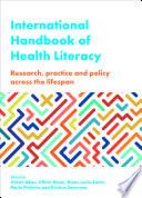 International Handbook of Health Literacy