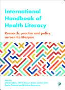 Pdf International Handbook of Health Literacy Telecharger