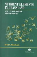 Nutrient Elements in Grassland