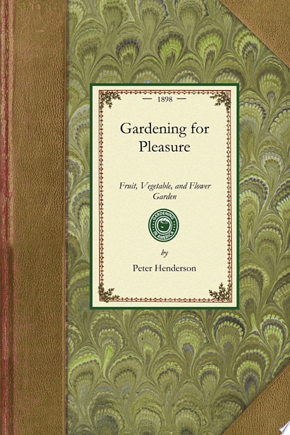 Gardening for Pleasure