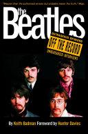 The Beatles: Off the Record Pdf/ePub eBook