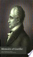 Memoirs of Goethe: