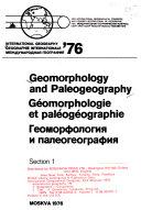 International Geography  76  Geomorphology and paleogeography