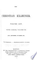 The Christian Examiner Book PDF