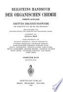 Beilsteins Handbuch der organischen Chemie, vierte Auflage