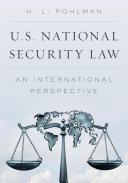 U.S. National Security Law Pdf/ePub eBook