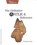 Pdf The Definitive ANTLR 4 Reference Telecharger