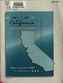 California Employer s Guide