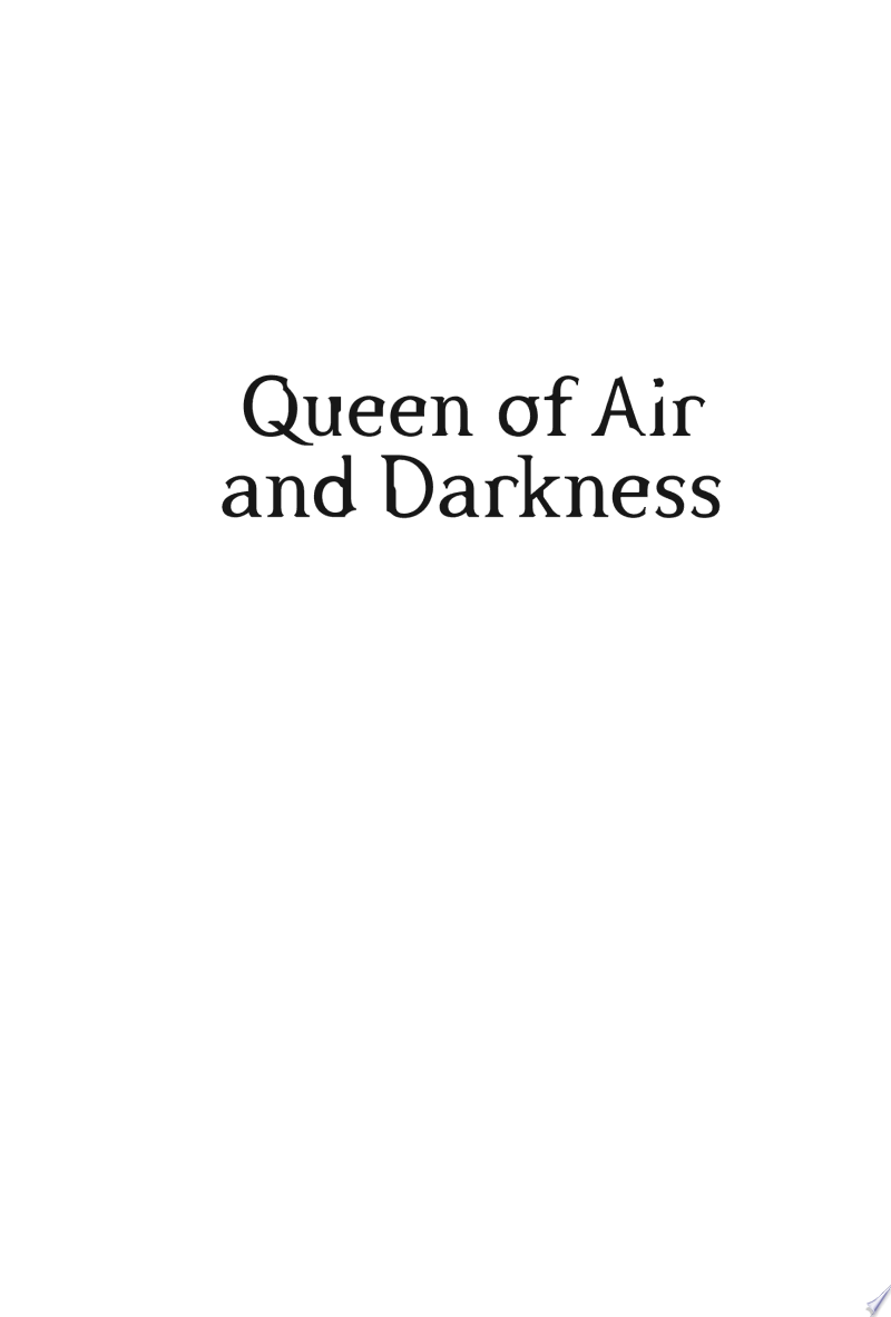 Queen of Air and Darkness image