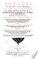 Voyages en Anglois et en François d'A. de La Motraye en diverses provinces et places de la Prusse Ducale et Royale, de la Russie, de la Pologne, ... Pdf/ePub eBook