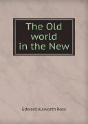 The Old world in the New Book