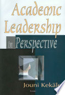 Academic Leadership In Perspective Book PDF