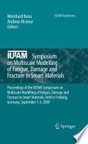 Iutam Symposium On Multiscale Modelling Of Fatigue Damage And Fracture In Smart Materials Book PDF