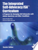 The Integrated Self Advocacy ISA Curriculum