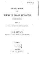 The Periods of the History of English Literature in Sketches