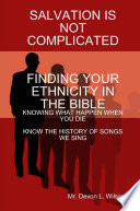 Finding Your Ethnicity in the Bible