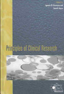 Principles of Clinical Research Book