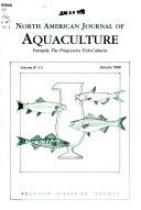 North American Journal of Aquaculture