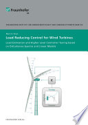 Load Reducing Control for Wind Turbines.