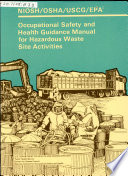 Occupational Safety And Health Guidance Manual For Hazardous Waste Site Activities