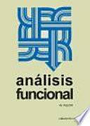 Análisis funcional