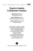 Trends in Synthetic Carbohydrate Chemistry