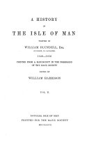 A History of the Isle of Man