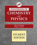 CRC Handbook of Chemistry and Physics  Special Student Edition