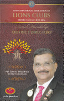 Lions 324A3 District Directory