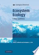 Ecosystem Ecology Book
