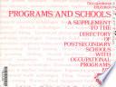 Programs and Schools Book PDF