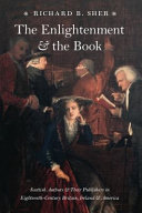 The Enlightenment and the Book Book