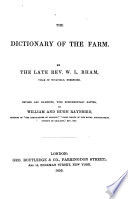 The Dictionary of the Farm