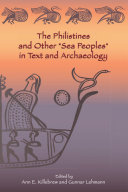 """Pdf The Philistines and Other """"Sea Peoples"""" in Text and Archaeology Telecharger"""
