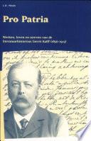 Pro Patria Werken Leven En Streven Van Gerrit Kalff 1856 1923
