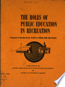 The Roles of Public Education in Recreation