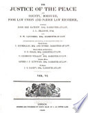Justice of the Peace and County  Borough  Poor Law Union and Parish Law Recorder Book PDF