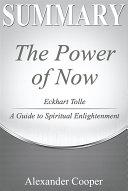 Summary of The Power of Now Pdf/ePub eBook