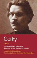 Gorky Plays  1