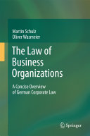 Pdf The Law of Business Organizations Telecharger