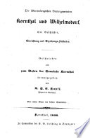 Die würtembergischen Brüdergemeinden Kornthal und Wilhelmsdorf : ihre Geschichte, Einrichtung und Erziehungs-Anstalten