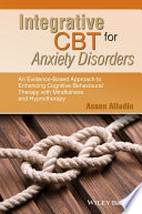 Integrative CBT for Anxiety Disorders