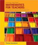 Mathematics for Teachers: An Interactive Approach for Grades K-8