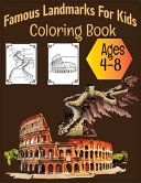 Famous Landmarks For Kids Coloring Book Ages 4 8