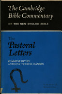 The Pastoral Letters