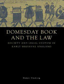 Pdf Domesday Book and the Law