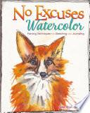 No Excuses Watercolor Book